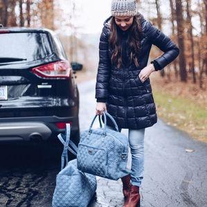 Vera bradley weekender travel duffel bag